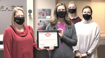 YWCA Presents Goldmark with Friends Award