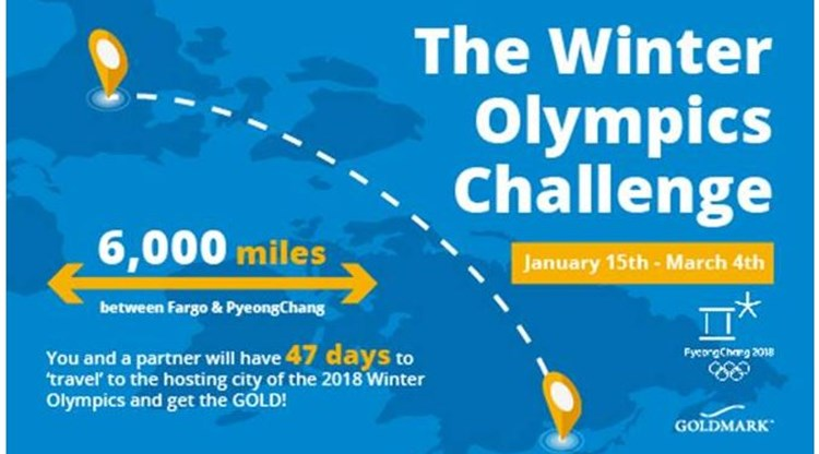 Winter Olympics Wellness Challenge Recap
