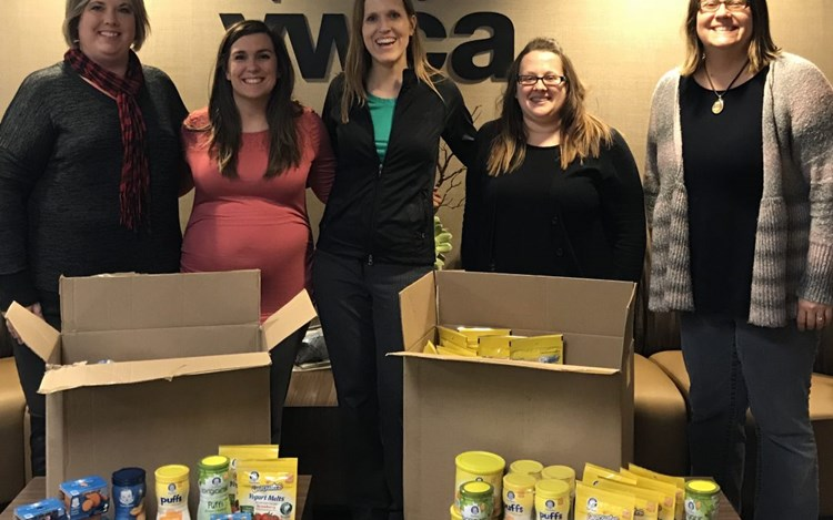 GOLDMARK Collects Nearly 2,000 Baby Food Donations