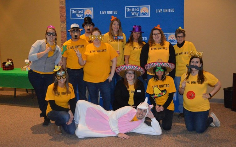 GOLDMARK raises $17,800 for United Way of Cass-Clay