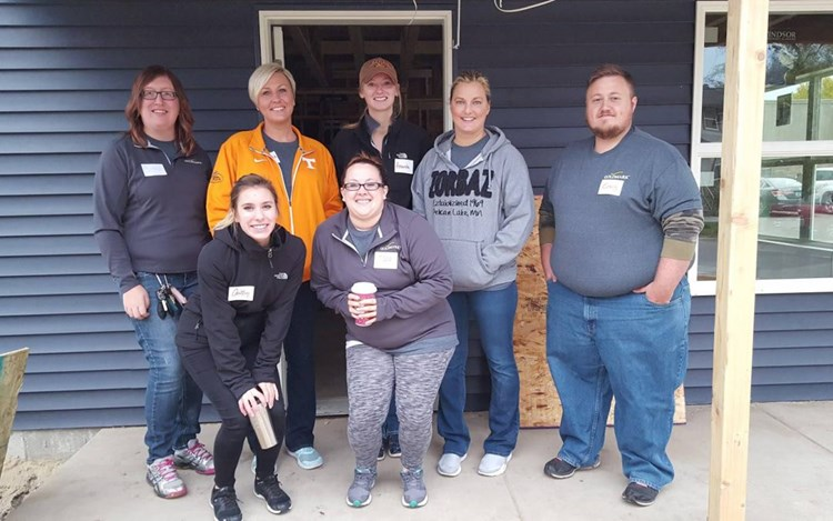GOLDMARK Helps with Habitat for Humanity's HERO Build