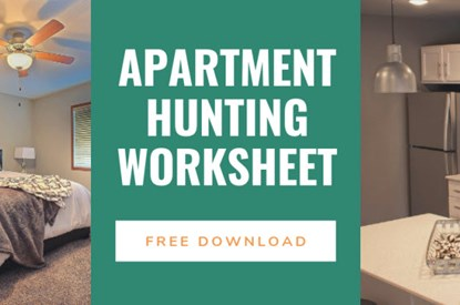 Apartment Hunting Worksheet