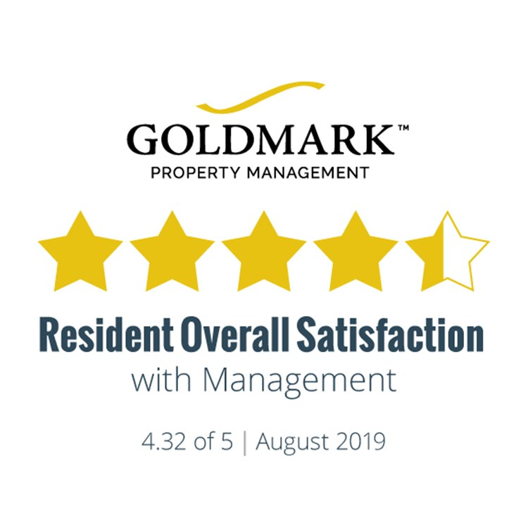 Resident Satisfaction Results for August 2019