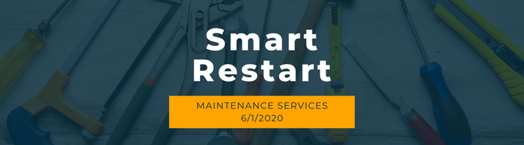 Full Maintenance Services to Resume June 1