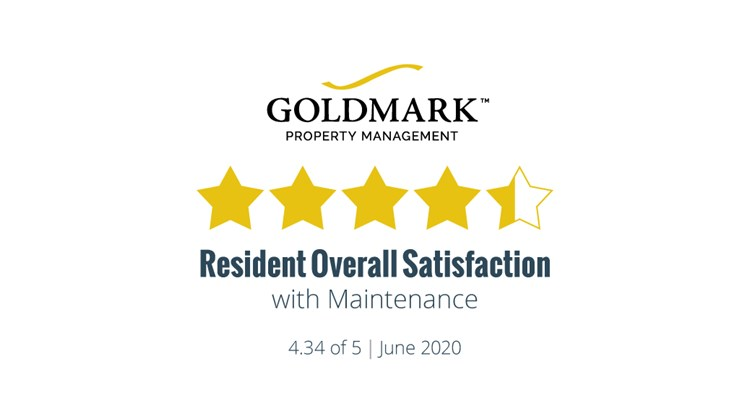 Resident Satisfaction Results for June 2020