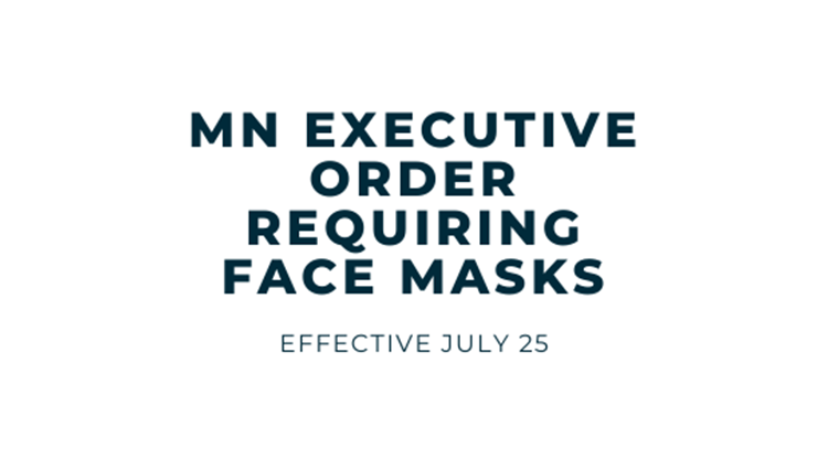MN Executive Order Mandating Face Masks