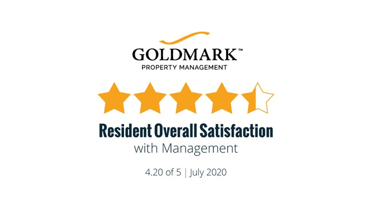 Resident Satisfaction Results for July 2020